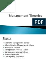 Unit 2 Management Theories