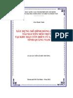 Mo Hinh QLTN & MT Tai Khu Bao Ton Bien Cu Lao Cham 357
