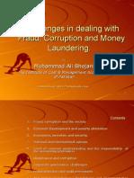 Muhammad Ali Bhojani Research Report on Fraud, Corruption & Money Laundering