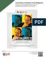 NUSP University Talk [UTalk] Aquinomics and the People's Alternative