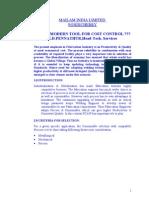 Fcaw Cost Control