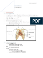 2013 BAA - Cardiovascular System