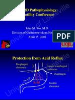 GERD Pathophysiology