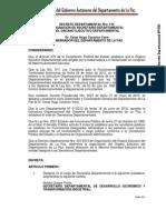 Decreto Departamental 010