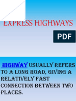 Express Highways.ppt.4th Sem
