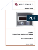 Woodward - Egcp - Operation Manual