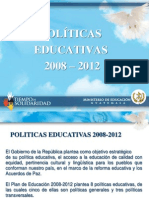 2008-01-29 Presentación Políticas Educativas final