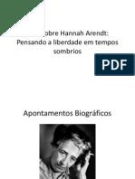 Aula Sobre Hannah Arendt