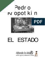 Kropotkin, Pedro - El Estado