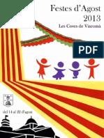 Programa Festes d'Agost_2013