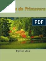 Clayton Lima - Poesias de Primavera