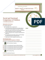 social and emotional handout