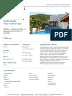Villa con Cuatro Dormitorios en Venta Santa Eulalia