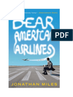 Dear American Airlines -- Discussion Guide