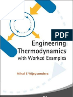 Engineering Thermodynamics With Worked Examples by Nihal E. Wijeysundera