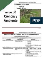 Ciencia Ambiente 1ºGrado rutas.doc