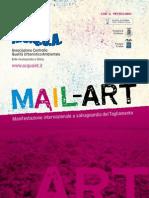 Libretto Mail Art - Manifestazione internazionale a salvaguardia del Tagliamento