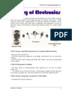 history of electronics