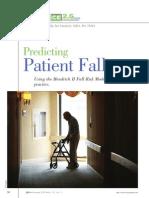 Predicting Patient Falls