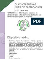 INTRODUCCIÓN BUENAS PRACTICAS DE FABRICACIÓN