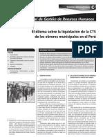 CTS Obreros Municipales Dilema