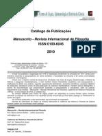 Catalogos CLE - Manuscrito 2010