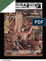 Revista Cinosargo número XI - Edición de Abril del 2009
