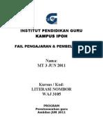Kandungan Fail Utk MQA-IPG Ipoh
