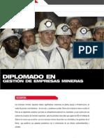 04. DIPLOMADO EN GESTIÓN DE EMPRESAS MINERAS