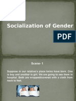 Socialization of Gender
