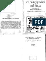 12975330 Barth Los Grupos Etnicos y Sus Fronteras