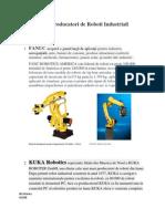 Marii Producatori de Roboti Industriali