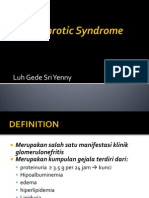 Nephrotic Syndrome (Lecture Medical Faculty)
