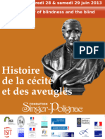 Francine Markovits - FR - Diderot. La cécité, critique d'une philosophie de l'évidence