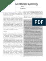 Dirac Equation-Sea of Negative Energy (Free Energy)-Hotson (David Sereda) - Pt1-2