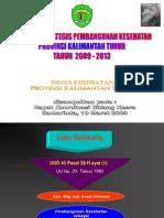 Rencana Strategis Pembangunan Kesehatan