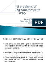Problems of Developing Countries With WTO1