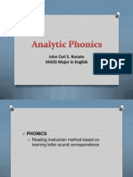 Analytic Phonics