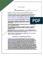 AG Training Profile