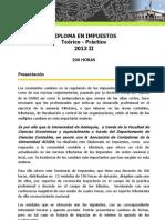 Diploma Impuestos 2013-2