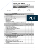 Tabela Chakras