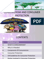 Consumerism and consumer protection