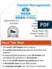 59966620 Group3 Working Capital Management at Tata Steel Ppt