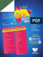 Programação OPA - 2013