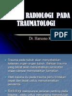 Materi Kuliah III - Peranan Radiologi Pada Traumatologi