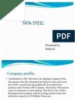 51230885 Tata Steel Ppt