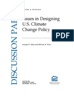 UNITED STATES  Policy for CLIMATE CHANGE