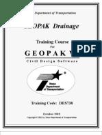 Geopak Drainage v8i