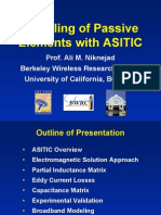 Modeling of Passive Elements with ASITIC