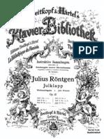 Rontgen - Weinachtsgabe Heft IV Opus 12